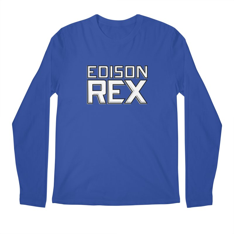 Edison Rex logo Men's Regular Longsleeve T-Shirt by edisonrex's Artist Shop