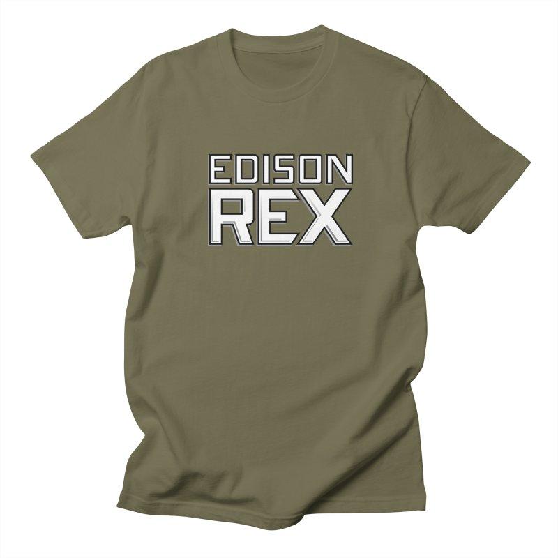 Edison Rex logo Men's T-Shirt by Edison Rex