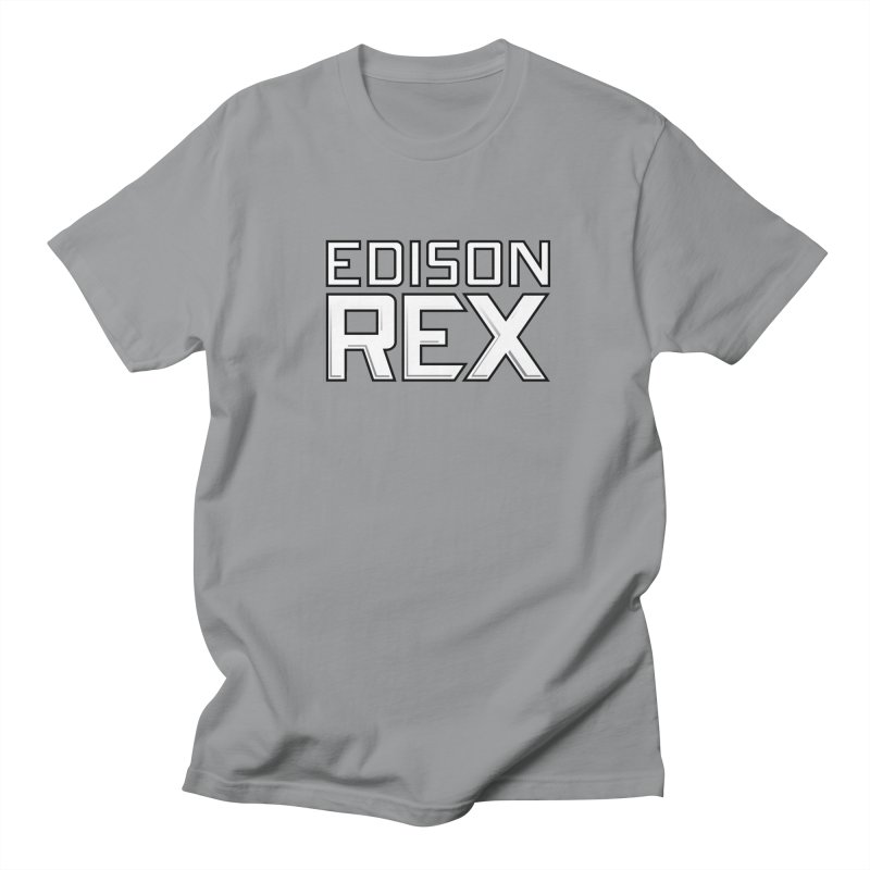 Edison Rex logo Men's Regular T-Shirt by edisonrex's Artist Shop