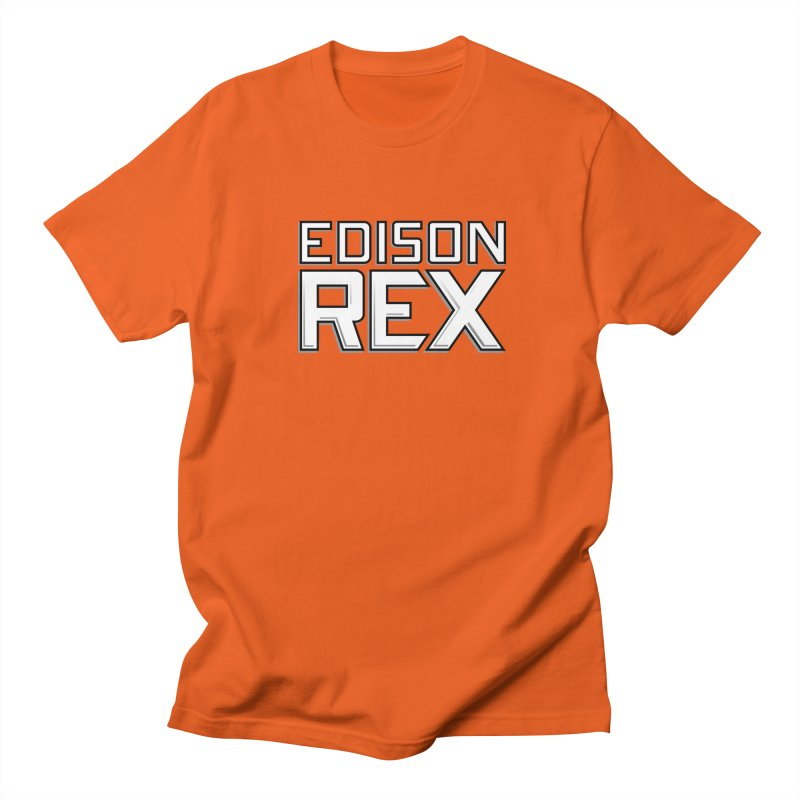 Edison Rex logo Men's Regular T-Shirt by edisonrex's Artist Shop