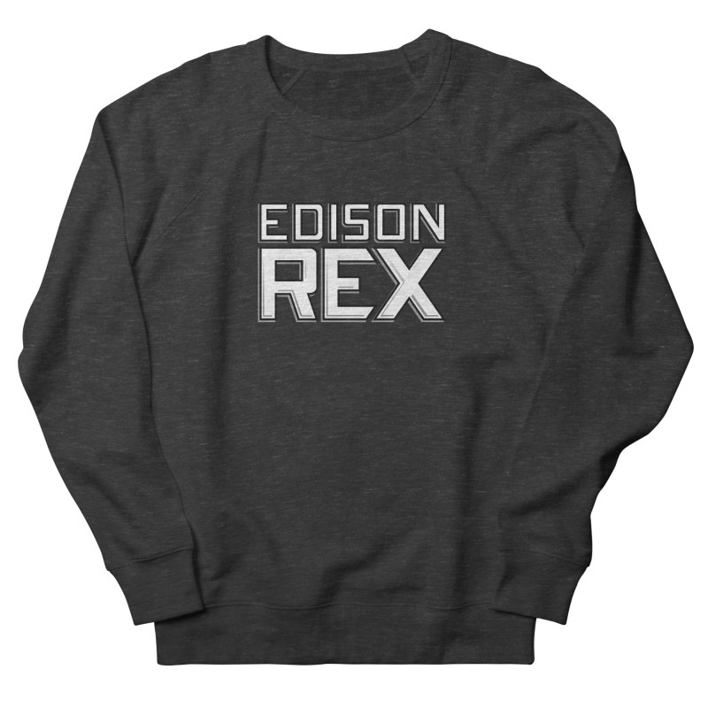 Edison Rex logo Men's French Terry Sweatshirt by edisonrex's Artist Shop