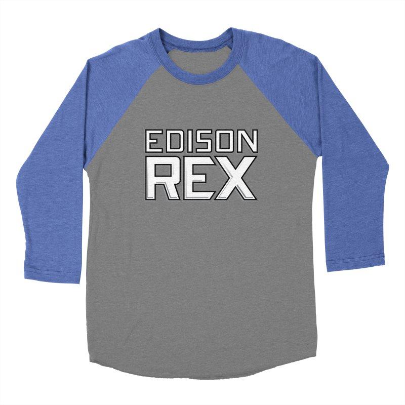 Edison Rex logo Women's Baseball Triblend T-Shirt by edisonrex's Artist Shop