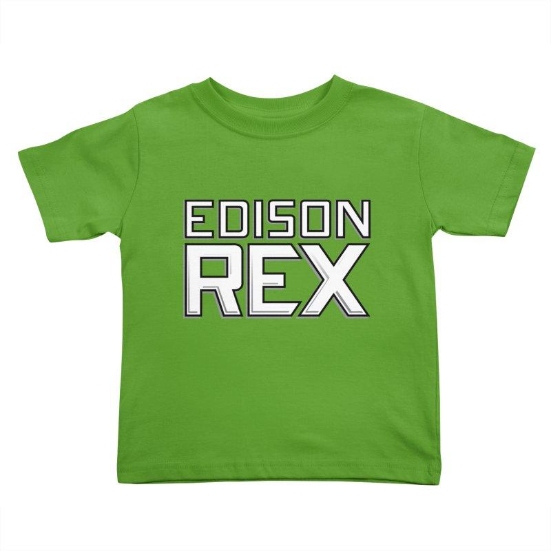 Edison Rex logo Kids Toddler T-Shirt by Edison Rex