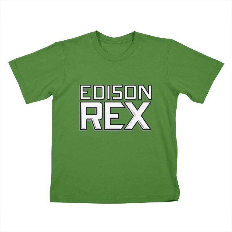 Edison Rex logo Kids T-shirt by edisonrex's Artist Shop