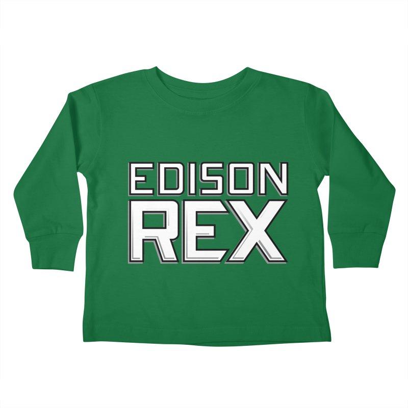 Edison Rex logo Kids Toddler Longsleeve T-Shirt by edisonrex's Artist Shop
