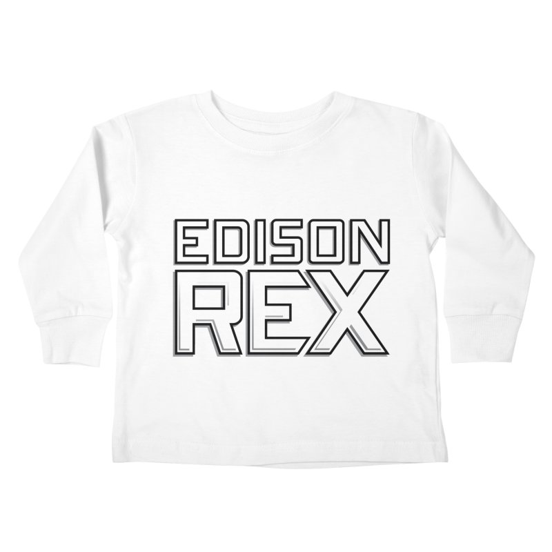 Edison Rex logo Kids Toddler Longsleeve T-Shirt by edisonrex's Artist Shop