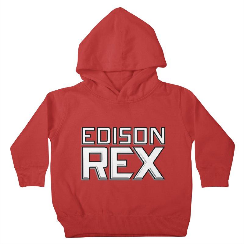 Edison Rex logo Kids Toddler Pullover Hoody by Edison Rex