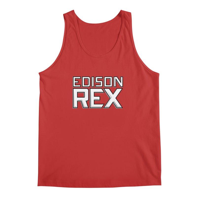 Edison Rex logo Men's Regular Tank by edisonrex's Artist Shop