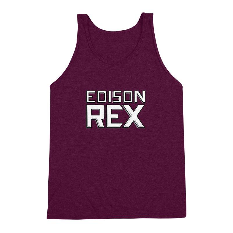 Edison Rex logo Men's Triblend Tank by edisonrex's Artist Shop