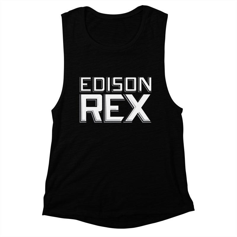 Edison Rex logo Women's Muscle Tank by Edison Rex