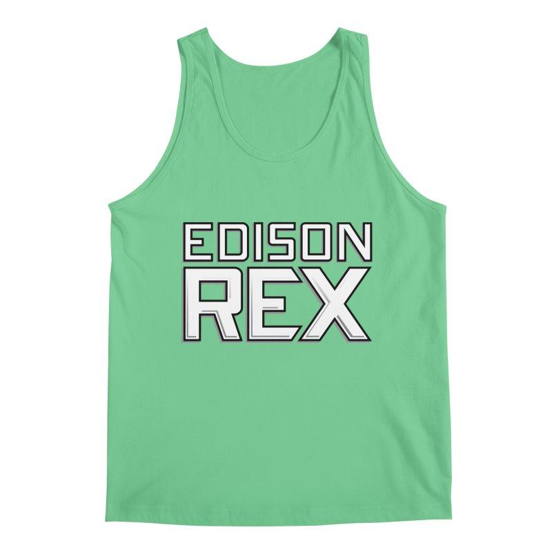 Edison Rex logo Men's Regular Tank by Edison Rex