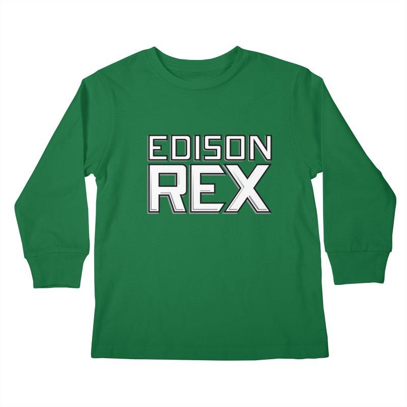 Edison Rex logo Kids  by edisonrex's Artist Shop