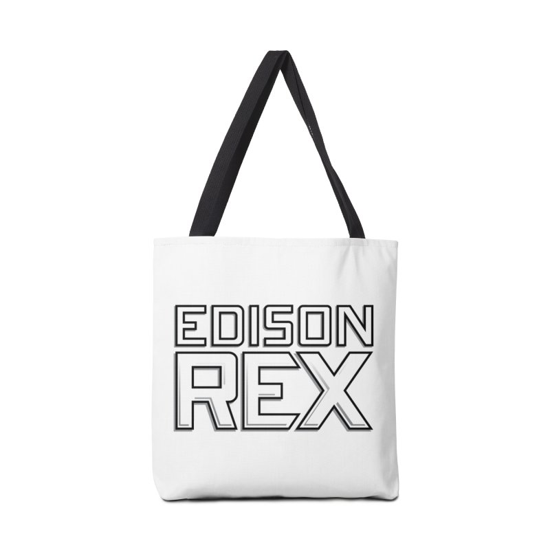 Edison Rex logo Accessories Tote Bag Bag by Edison Rex