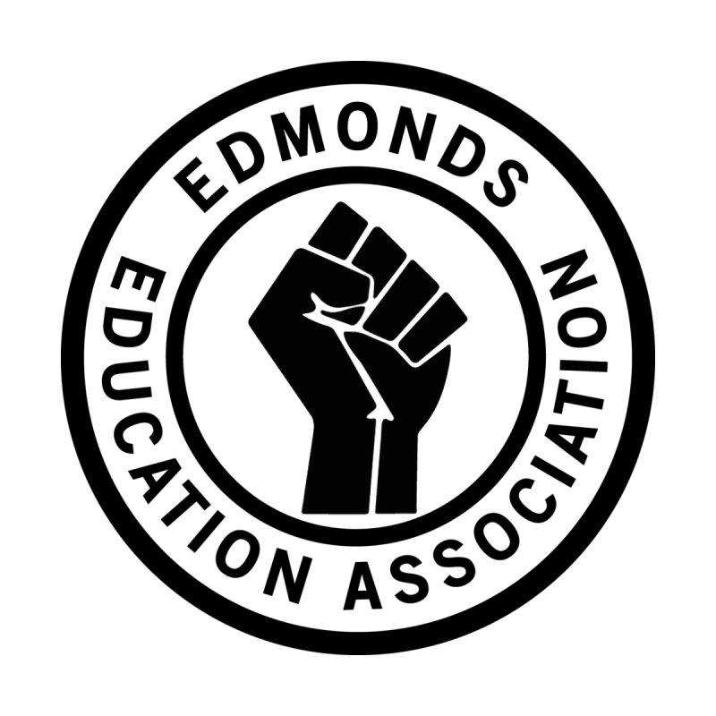 EEA Seal - BLM Men's V-Neck by Edmonds Education Association Swag Shop