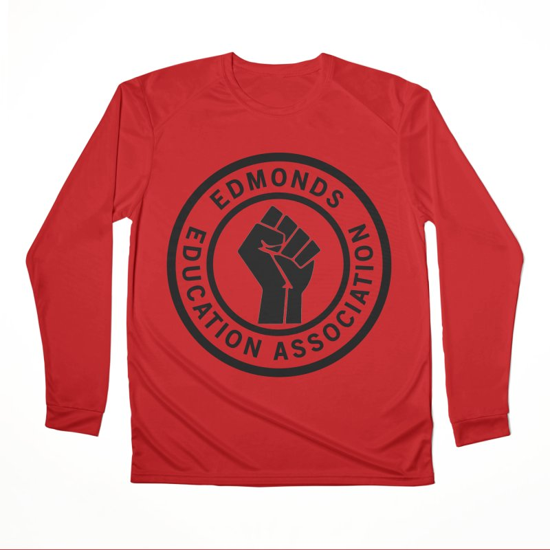 EEA Seal - BLM Women's Longsleeve T-Shirt by Edmonds Education Association Swag Shop