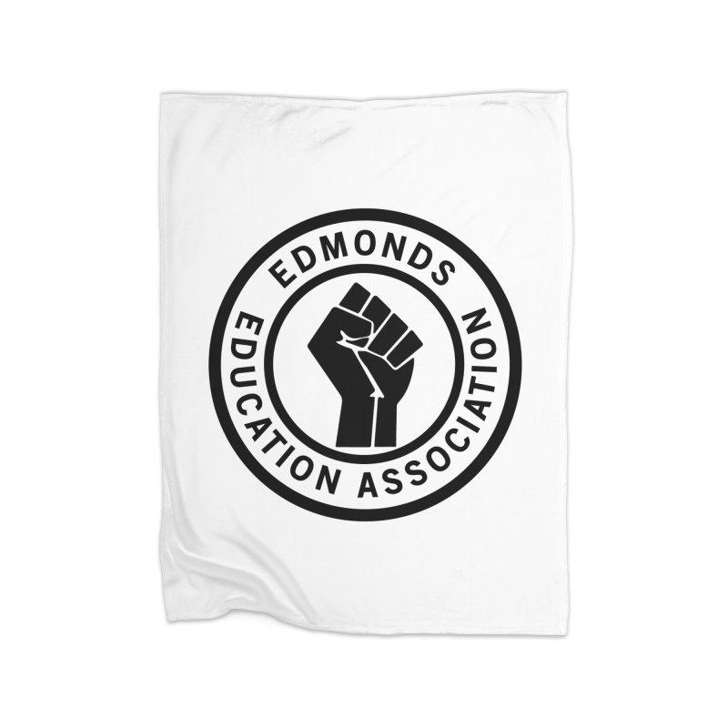 EEA Seal - BLM Home Blanket by Edmonds Education Association Swag Shop