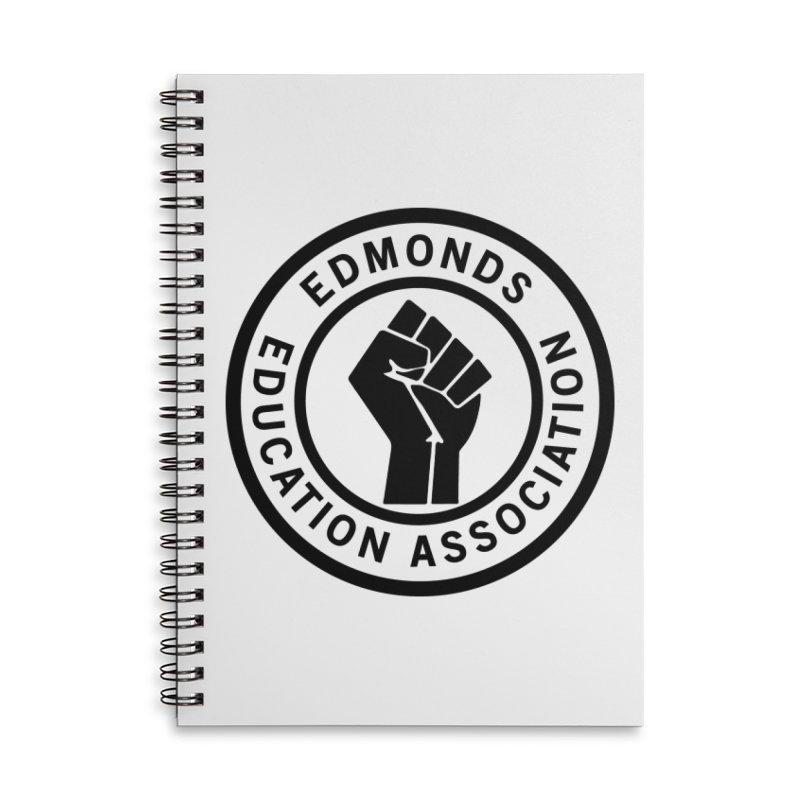 EEA Seal - BLM Accessories Notebook by Edmonds Education Association Swag Shop