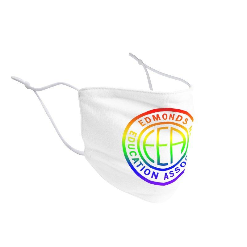 EEA Seal - Pride Accessories Face Mask by Edmonds Education Association Swag Shop