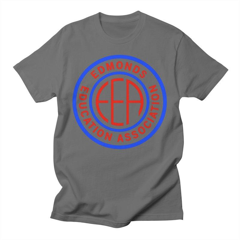 Edmonds EA Seal Full Size Men's T-Shirt by Edmonds Education Association Swag Shop