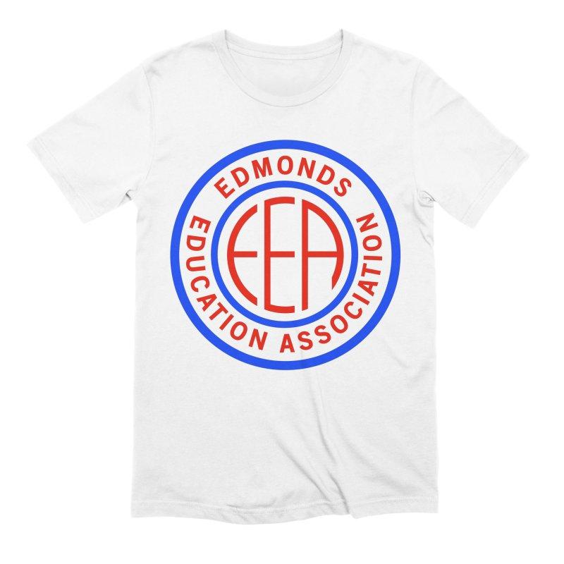 Edmonds EA Seal Full Size Men's Extra Soft T-Shirt by Edmonds Education Association Swag Shop