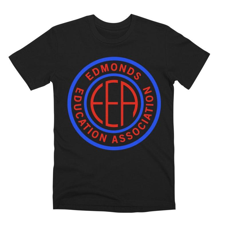 Edmonds EA Seal Full Size Men's Premium T-Shirt by Edmonds Education Association Swag Shop