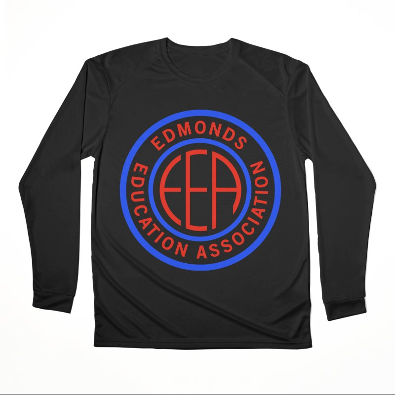 Edmonds EA Seal Full Size Women's Longsleeve T-Shirt by Edmonds Education Association Swag Shop