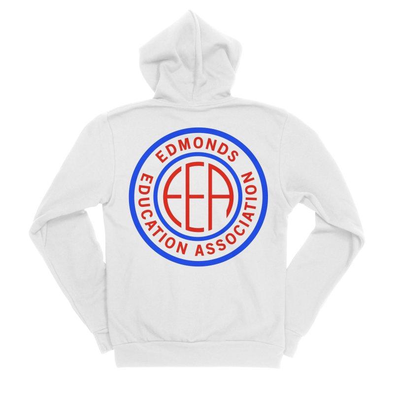 Edmonds EA Seal Full Size Men's Zip-Up Hoody by Edmonds Education Association Swag Shop
