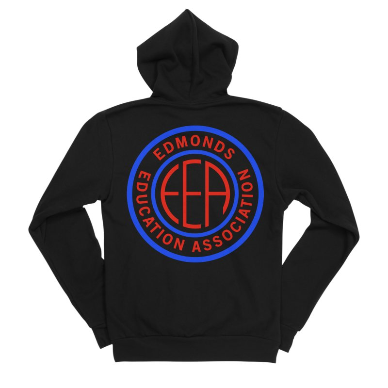 Edmonds EA Seal Full Size Men's Sponge Fleece Zip-Up Hoody by Edmonds Education Association Swag Shop