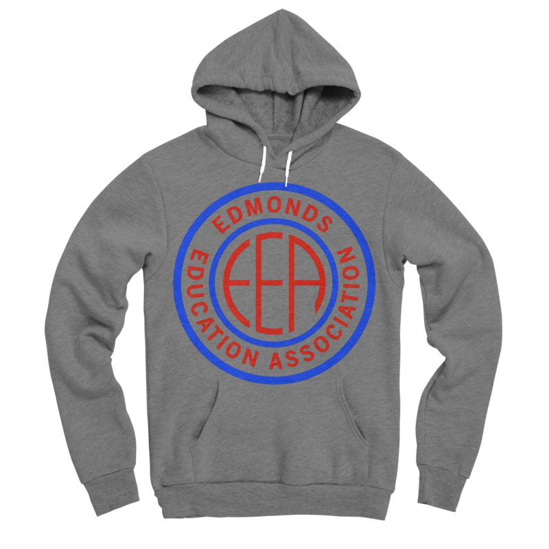 Edmonds EA Seal Full Size Women's Sponge Fleece Pullover Hoody by Edmonds Education Association Swag Shop