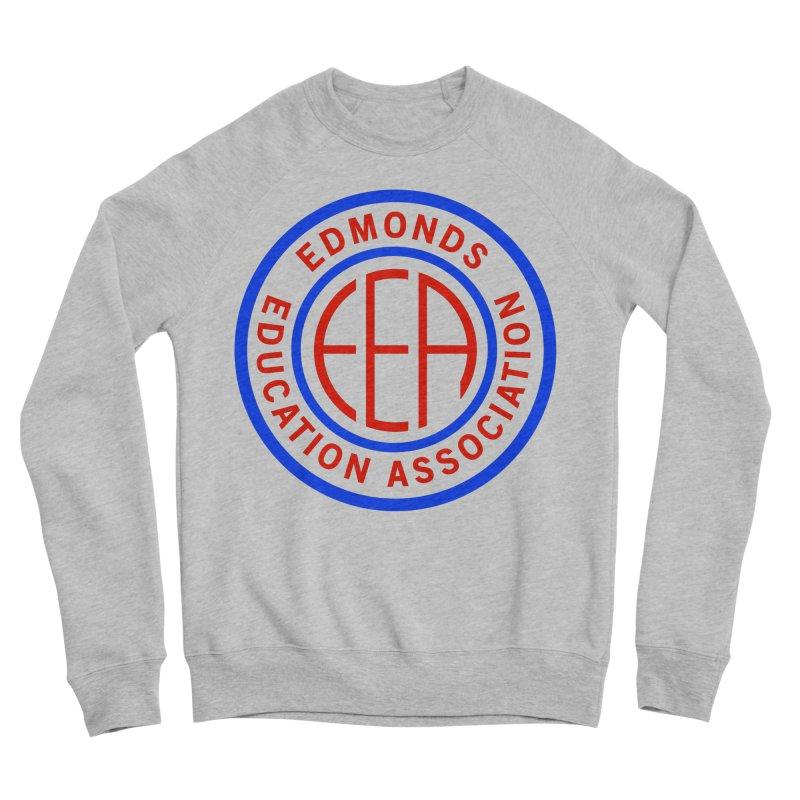 Edmonds EA Seal Full Size Women's Sponge Fleece Sweatshirt by Edmonds Education Association Swag Shop