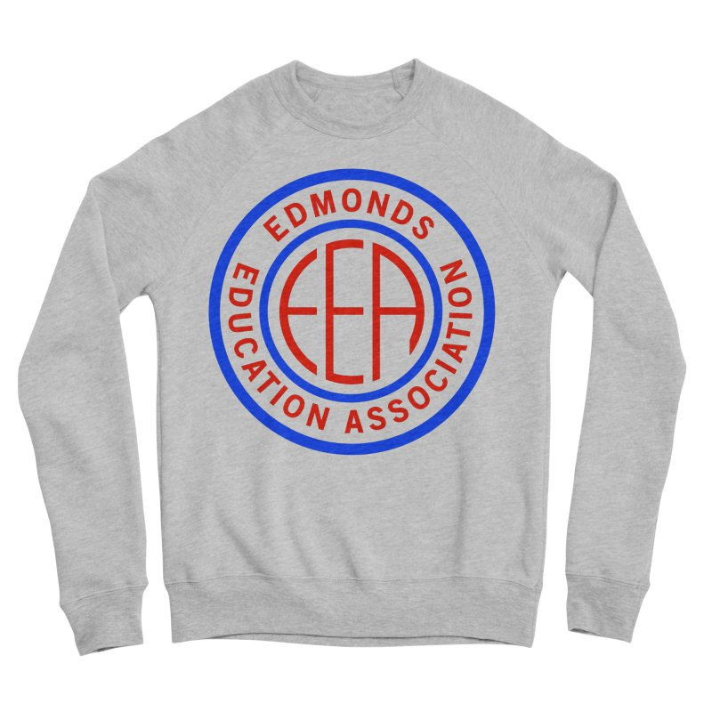 Edmonds EA Seal Full Size Men's Sponge Fleece Sweatshirt by Edmonds Education Association Swag Shop