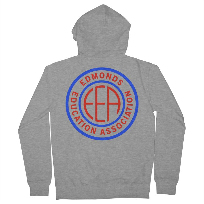 Edmonds EA Seal Full Size Women's Zip-Up Hoody by Edmonds Education Association Swag Shop