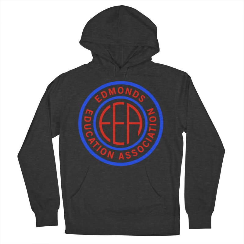 Edmonds EA Seal Full Size Men's French Terry Pullover Hoody by Edmonds Education Association Swag Shop