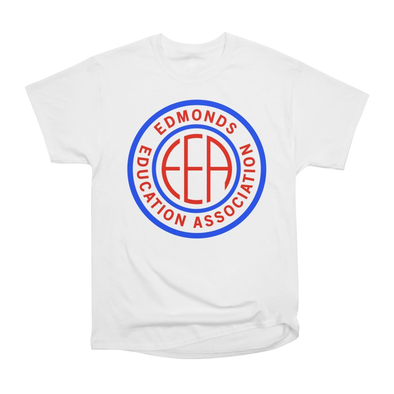 Edmonds EA Seal Full Size Men's Heavyweight T-Shirt by Edmonds Education Association Swag Shop
