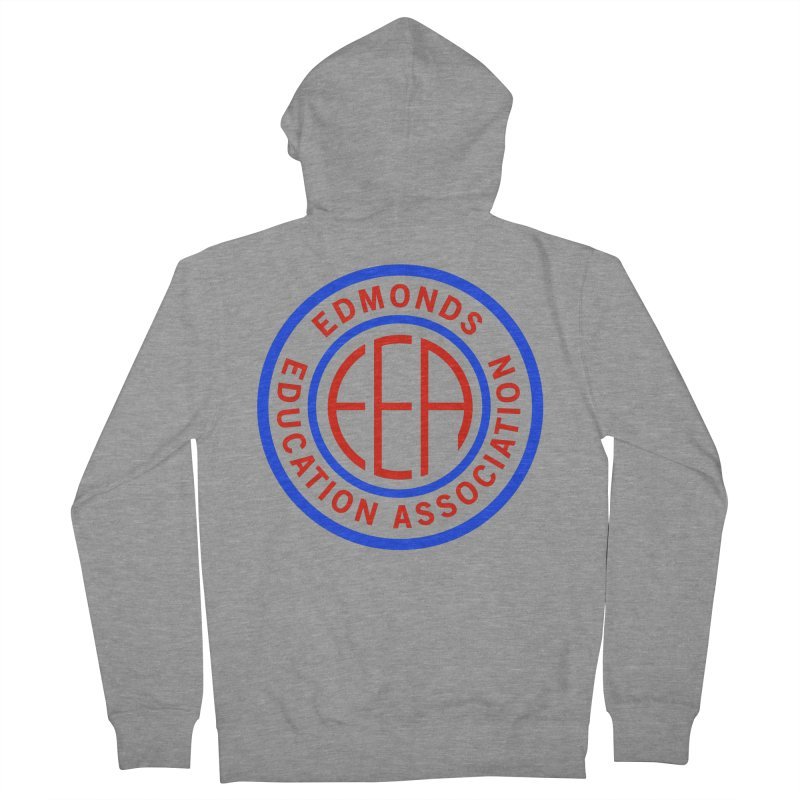 Edmonds EA Seal Full Size Men's French Terry Zip-Up Hoody by Edmonds Education Association Swag Shop