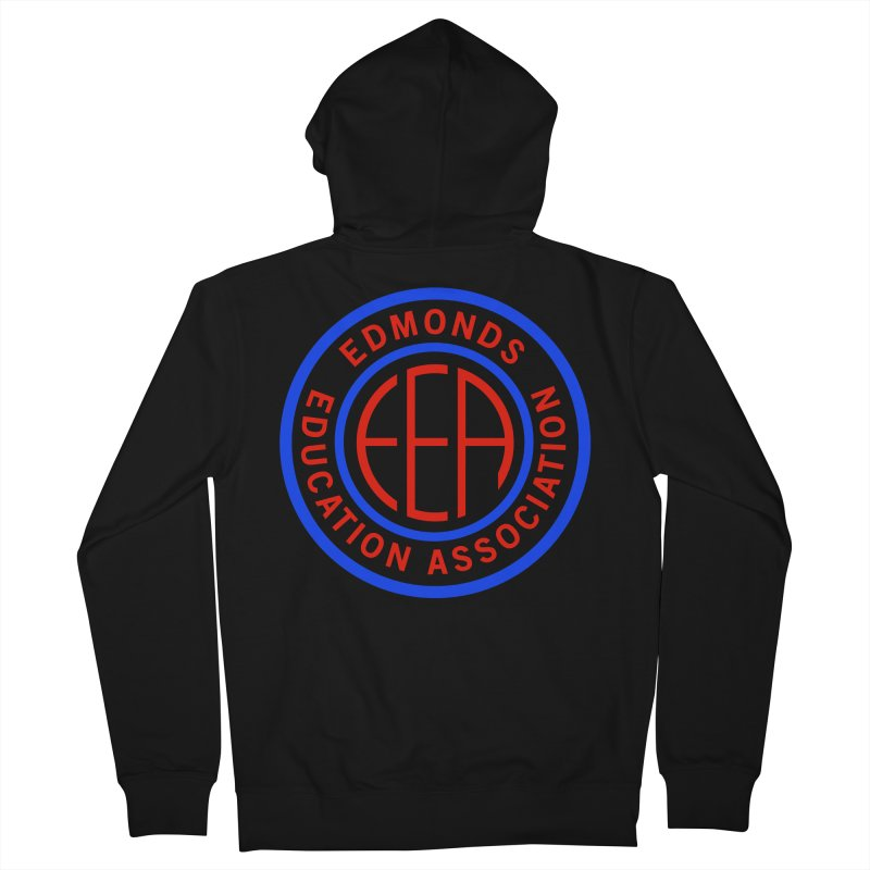 Edmonds EA Seal Full Size Men's Zip-Up Hoody by Edmonds Education Association Swag Shop