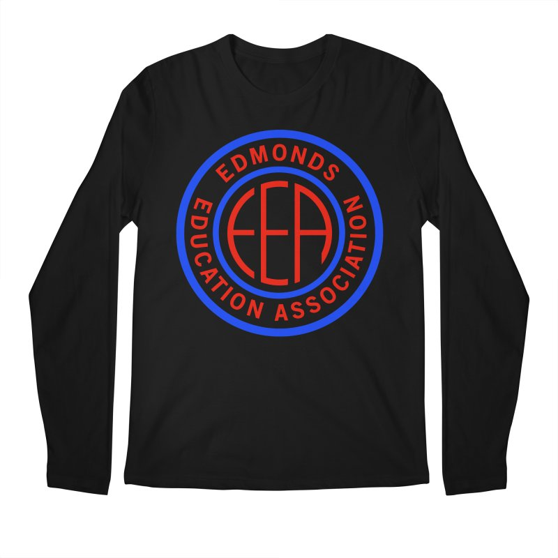 Edmonds EA Seal Full Size Men's Regular Longsleeve T-Shirt by Edmonds Education Association Swag Shop