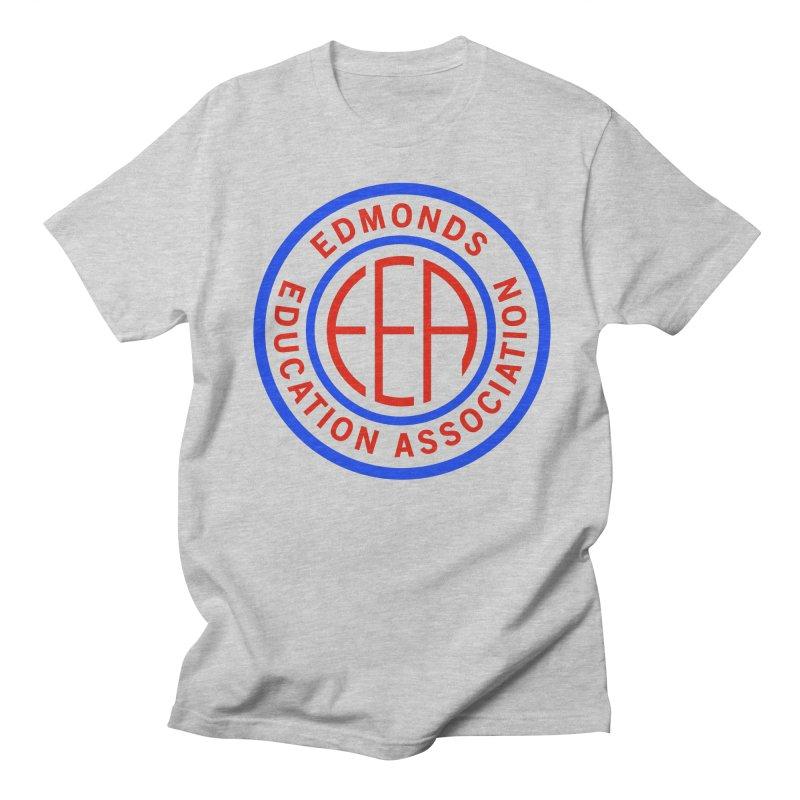 Edmonds EA Seal Full Size Men's Regular T-Shirt by Edmonds Education Association Swag Shop