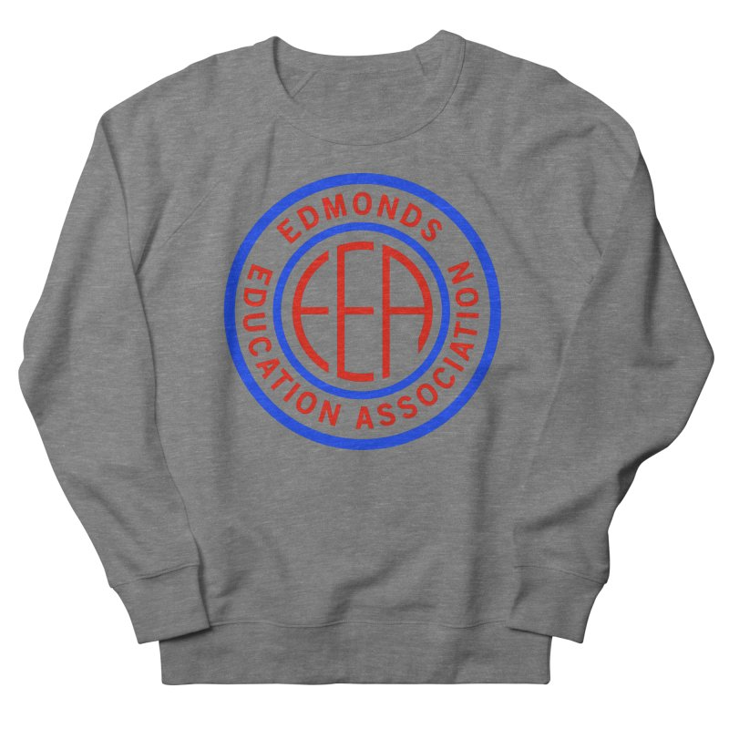 Edmonds EA Seal Full Size Men's French Terry Sweatshirt by Edmonds Education Association Swag Shop