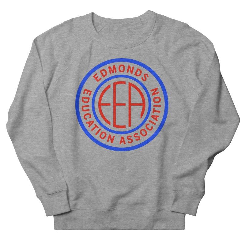 Edmonds EA Seal Full Size Men's French Terry Sweatshirt by Edmonds Education Association Swag Shop