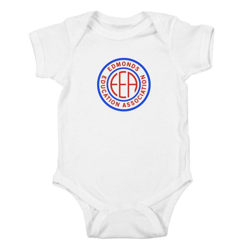 Edmonds EA Seal Full Size Kids Baby Bodysuit by Edmonds Education Association Swag Shop