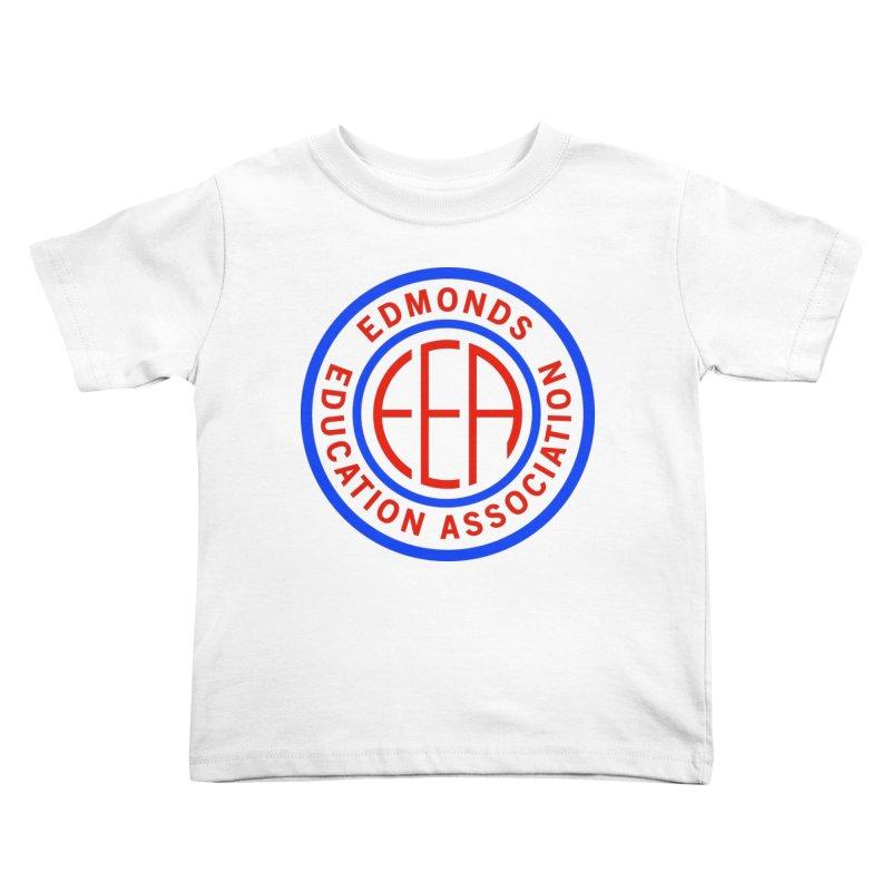 Edmonds EA Seal Full Size Kids Toddler T-Shirt by Edmonds Education Association Swag Shop