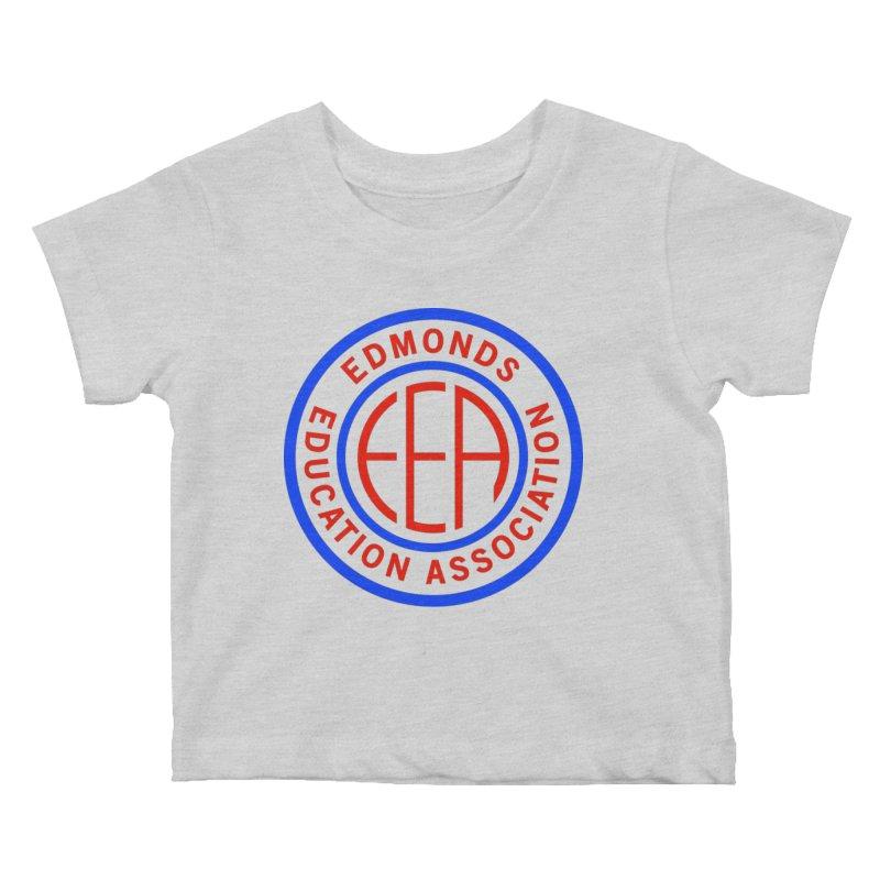 Edmonds EA Seal Full Size Kids Baby T-Shirt by Edmonds Education Association Swag Shop