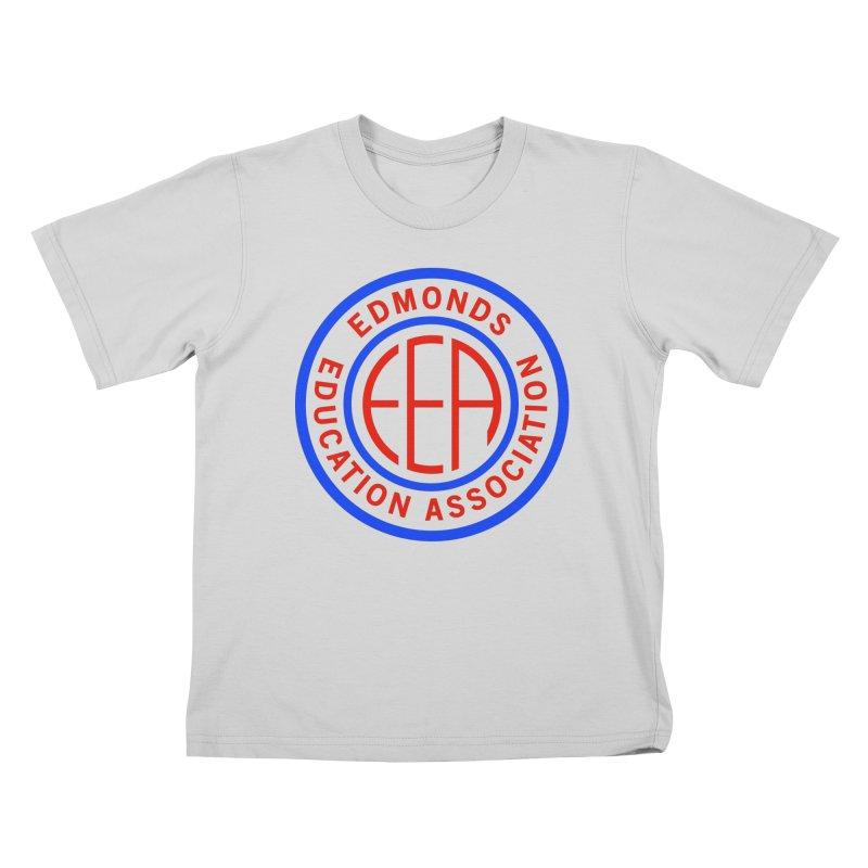 Edmonds EA Seal Full Size Kids T-Shirt by Edmonds Education Association Swag Shop