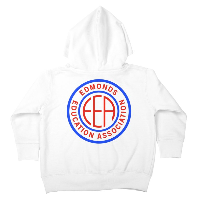 Edmonds EA Seal Full Size Kids Toddler Zip-Up Hoody by Edmonds Education Association Swag Shop