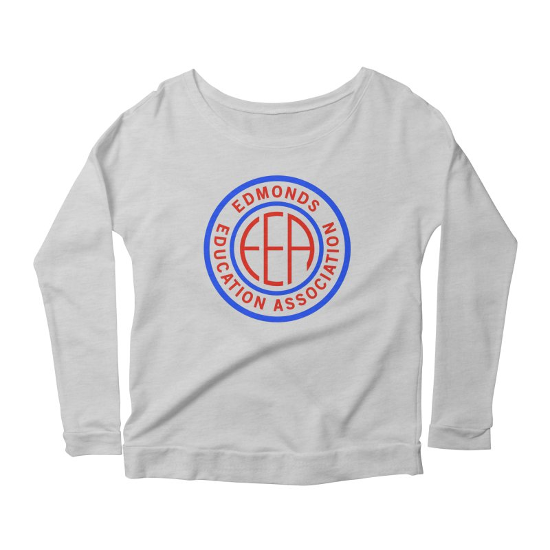 Edmonds EA Seal Full Size Women's Longsleeve T-Shirt by Edmonds Education Association Swag Shop