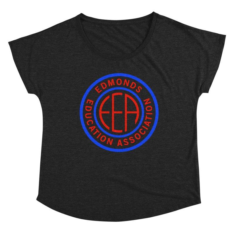 Edmonds EA Seal Full Size Women's Dolman Scoop Neck by Edmonds Education Association Swag Shop