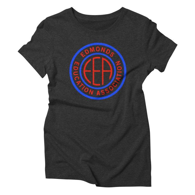 Edmonds EA Seal Full Size Women's Triblend T-Shirt by Edmonds Education Association Swag Shop