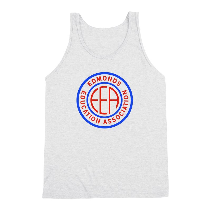Edmonds EA Seal Full Size Men's Triblend Tank by Edmonds Education Association Swag Shop