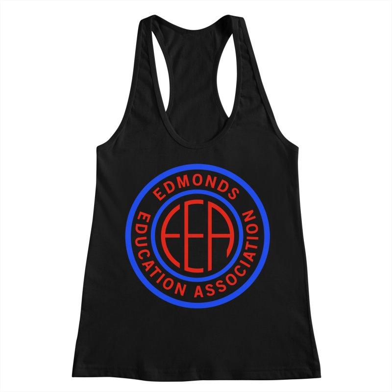 Edmonds EA Seal Full Size Women's Racerback Tank by Edmonds Education Association Swag Shop